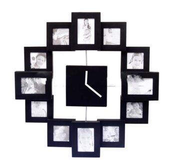 horloge photos petits cadres-0