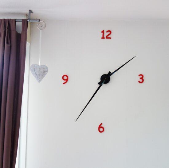 Chiffres 3D pour horloge murale-627