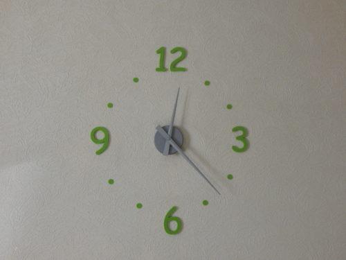 Chiffres 3D pour horloge murale-626