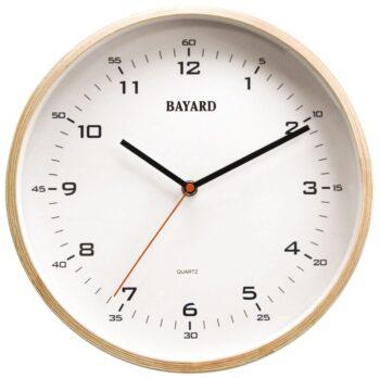 horloge bois bayard-0