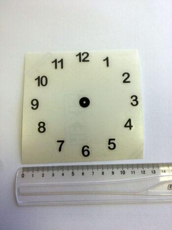 stickers chiffres 1cm - diamètre 12 cm idéal CD-0