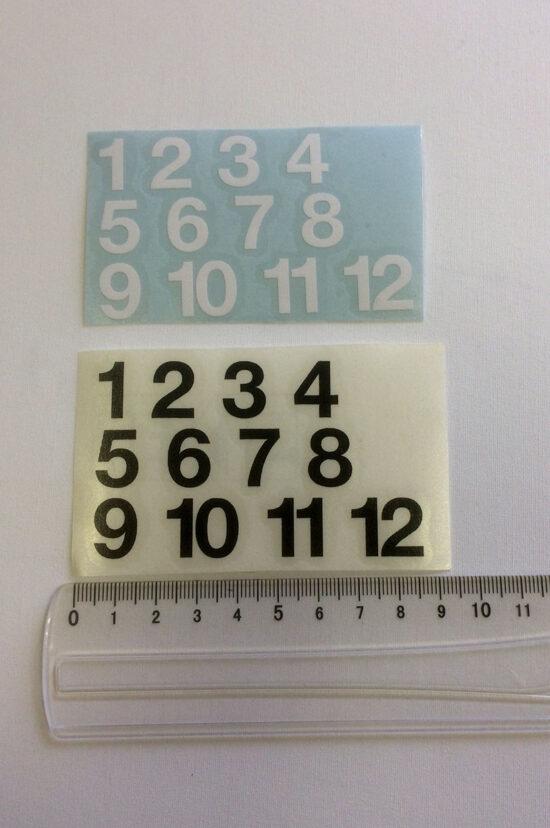 stickers chiffres gras 2 cm-0
