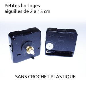 mecanisme d'horloge silencieux sans crochet plastique-0
