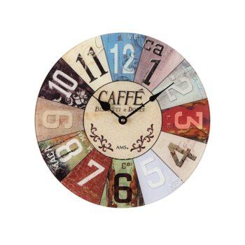Horloge murale café - AMS-0