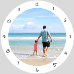 horloge photo centrale et cadran heures2